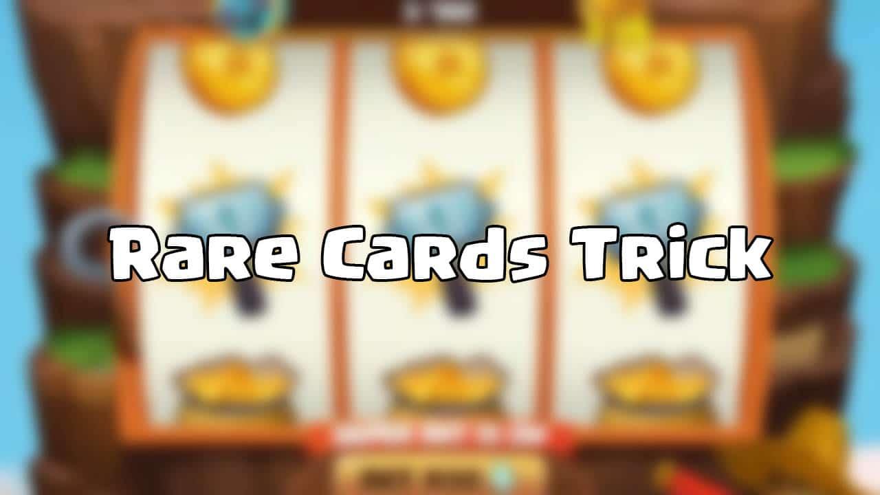 rare cards tricks